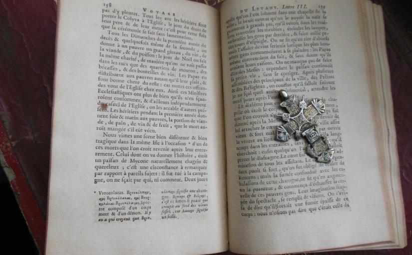 A Voyage Into the Levant – Vampirismo e Diari diViaggio