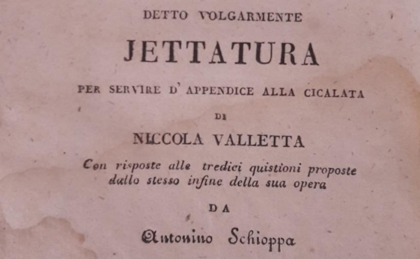 Storia della JettaturaNapoletana
