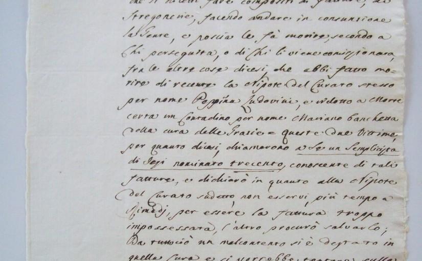 Processi ed inquisizione tra Pesaro, Urbino edAncona